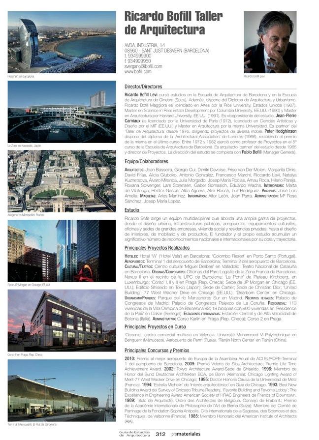 GUIA DE ESTUDIOS DE ARQUITECTURA 2013-2014 - Preview 67