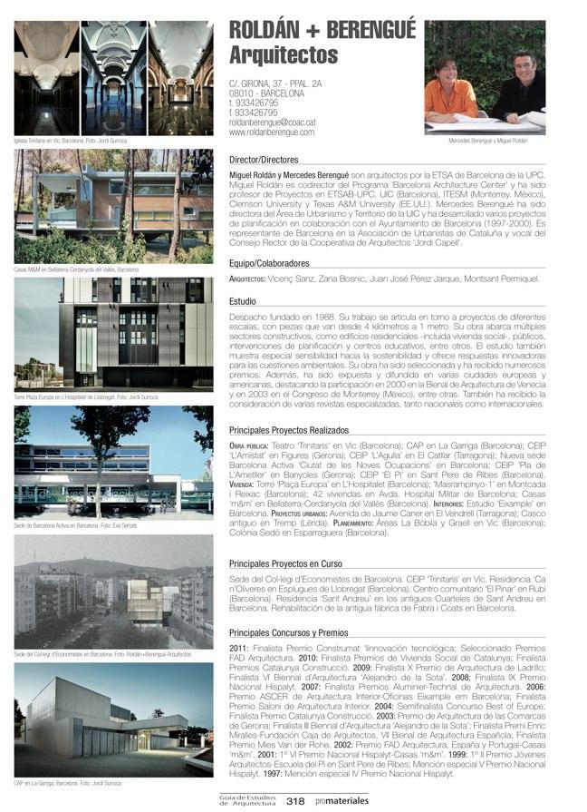 GUIA DE ESTUDIOS DE ARQUITECTURA 2013-2014 - Preview 68