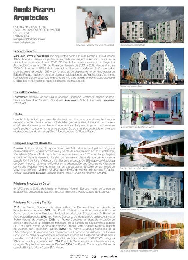 GUIA DE ESTUDIOS DE ARQUITECTURA 2013-2014 - Preview 69