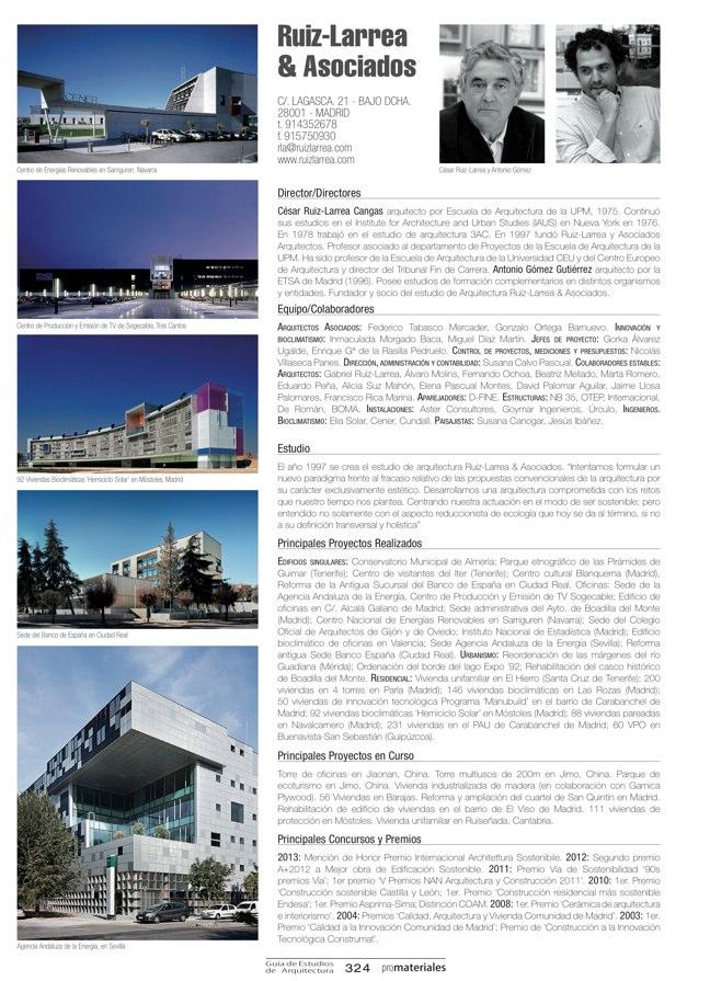 GUIA DE ESTUDIOS DE ARQUITECTURA 2013-2014 - Preview 70
