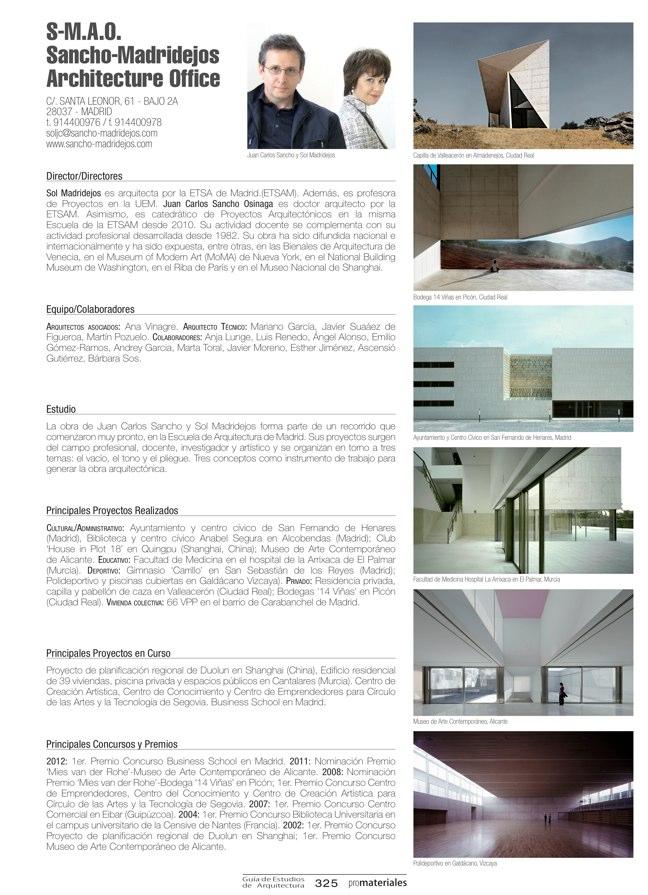 GUIA DE ESTUDIOS DE ARQUITECTURA 2013-2014 - Preview 71
