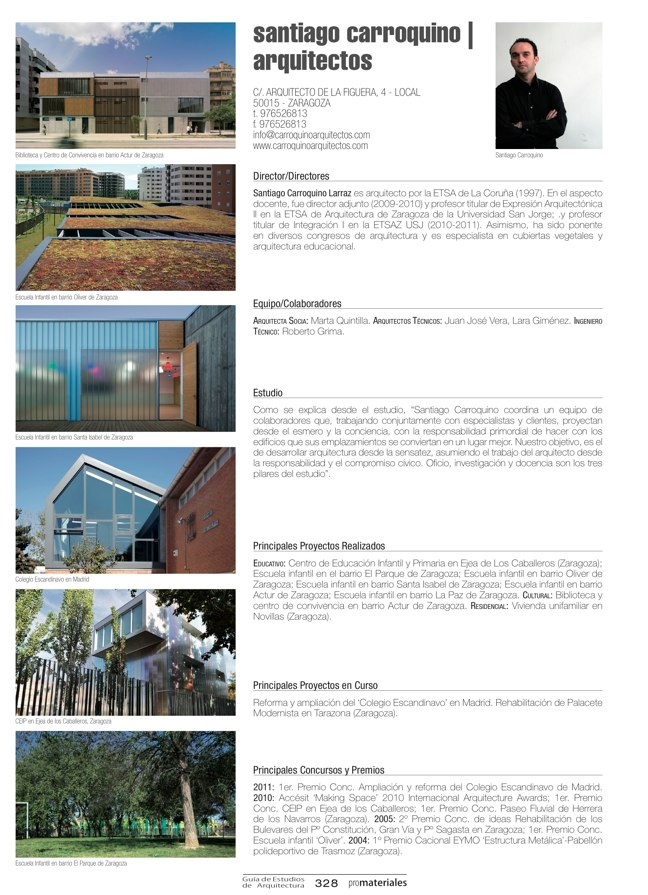 GUIA DE ESTUDIOS DE ARQUITECTURA 2013-2014 - Preview 72
