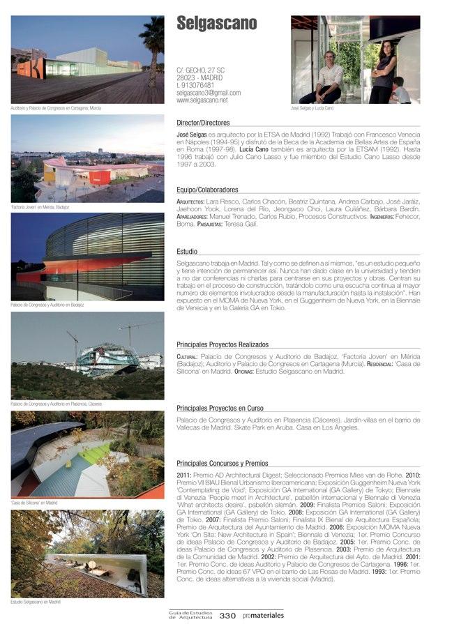GUIA DE ESTUDIOS DE ARQUITECTURA 2013-2014 - Preview 73