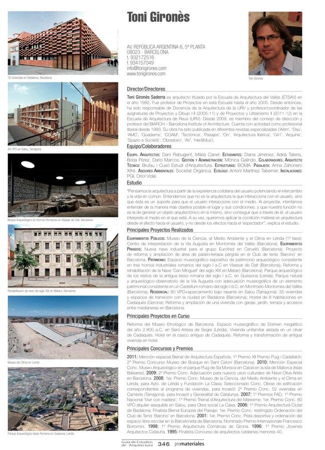 GUIA DE ESTUDIOS DE ARQUITECTURA 2013-2014 - Preview 74