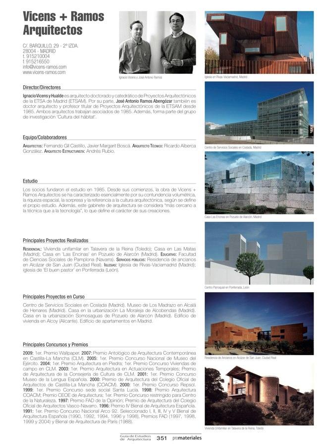 GUIA DE ESTUDIOS DE ARQUITECTURA 2013-2014 - Preview 75