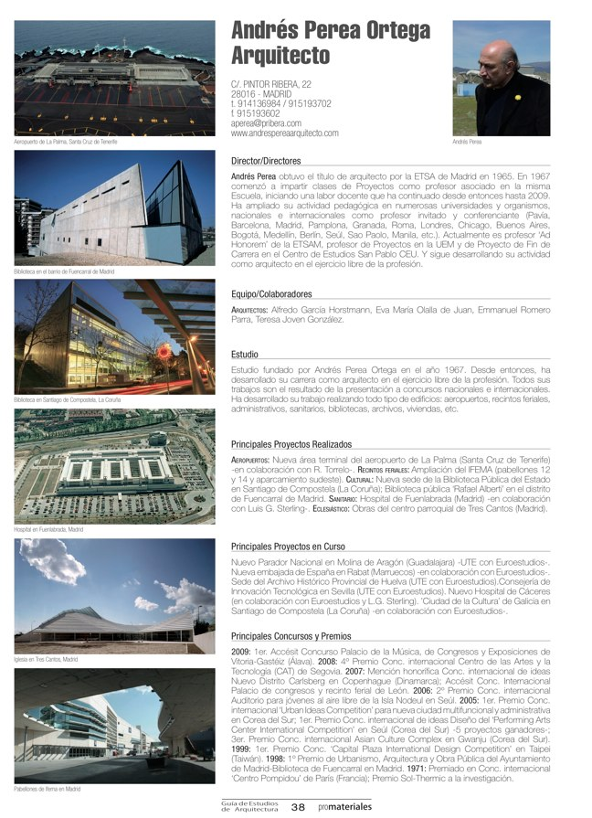 GUIA DE ESTUDIOS DE ARQUITECTURA 2013-2014 - Preview 9