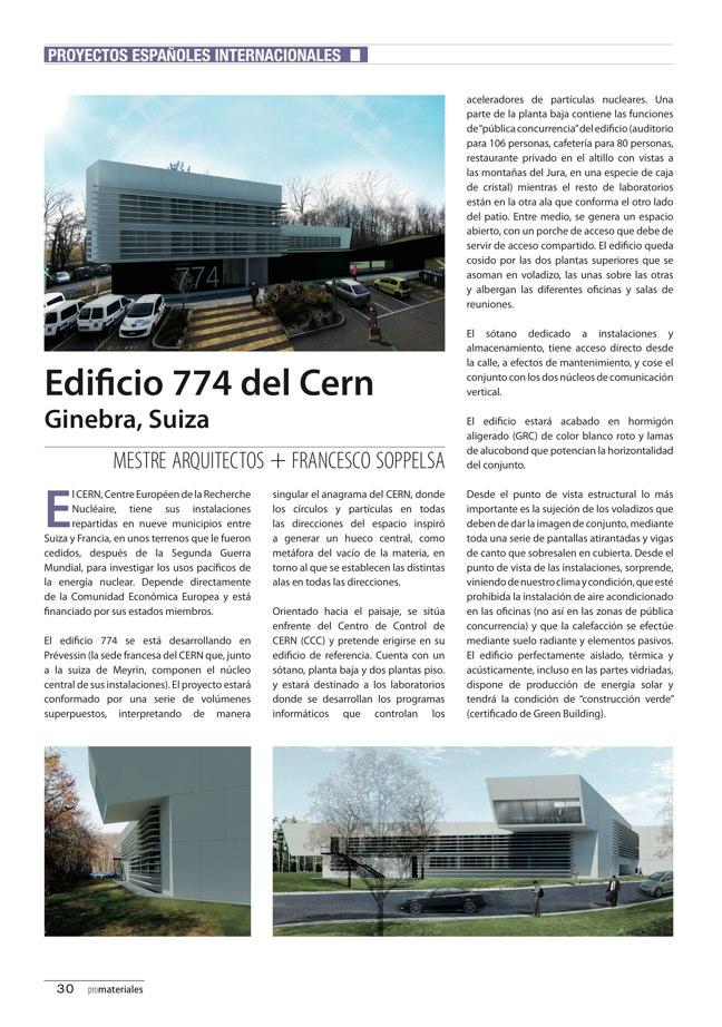promateriales 69 I Revista de construcción y arquitectura actual - Preview 10