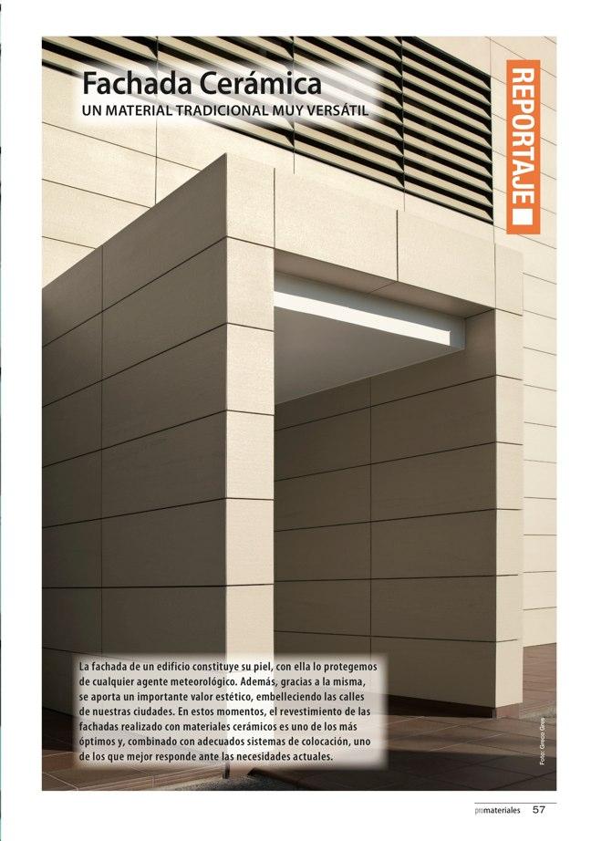 promateriales 69 I Revista de construcción y arquitectura actual - Preview 13