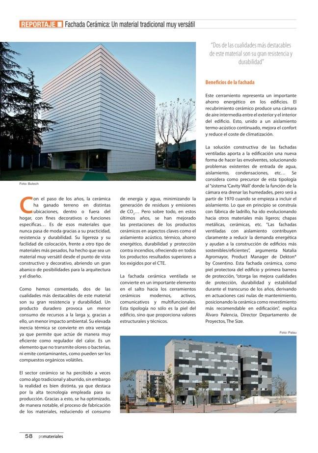 promateriales 69 I Revista de construcción y arquitectura actual - Preview 14