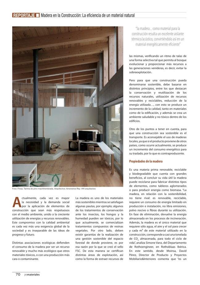 promateriales 69 I Revista de construcción y arquitectura actual - Preview 16