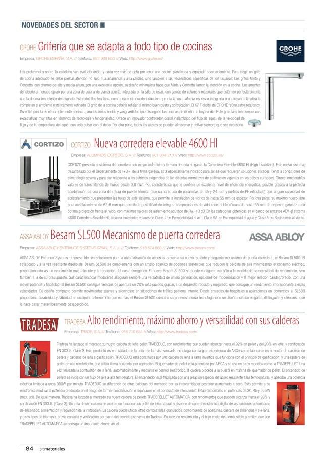 promateriales 69 I Revista de construcción y arquitectura actual - Preview 18