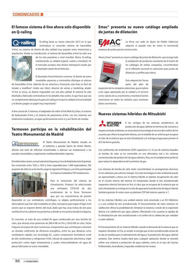 promateriales 69 I Revista de construcción y arquitectura actual - Preview 19