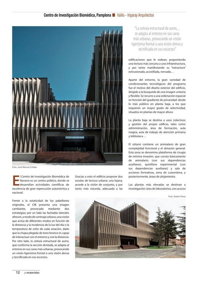 promateriales 69 I Revista de construcción y arquitectura actual - Preview 5