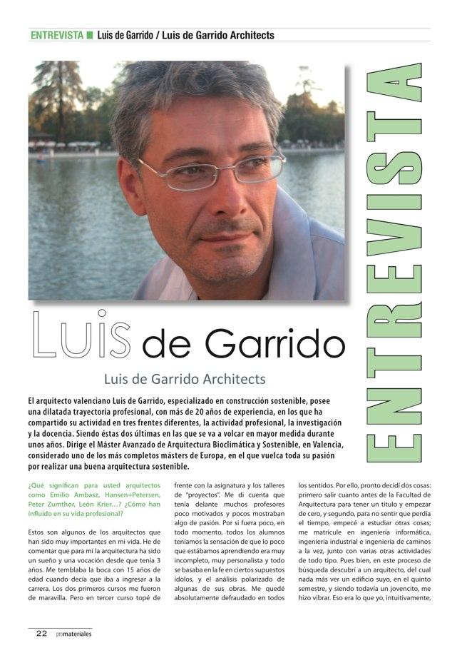 promateriales 69 I Revista de construcción y arquitectura actual - Preview 6