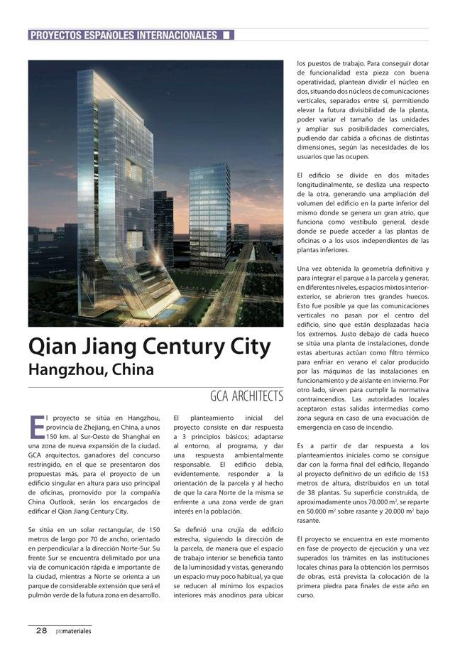 promateriales 69 I Revista de construcción y arquitectura actual - Preview 8