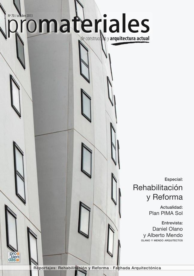 promateriales 70 I Revista de construcción y arquitectura actual