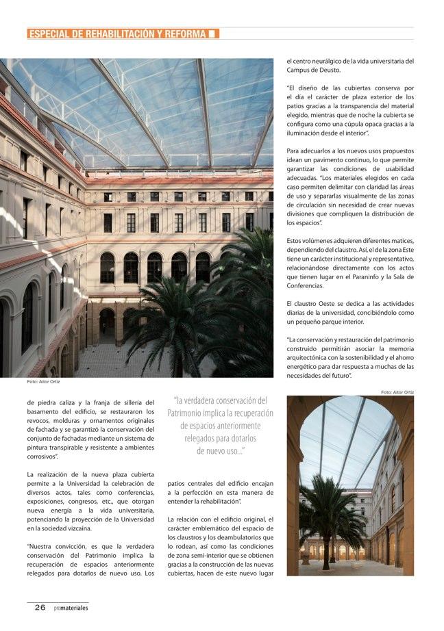 promateriales 70 I Revista de construcción y arquitectura actual - Preview 10