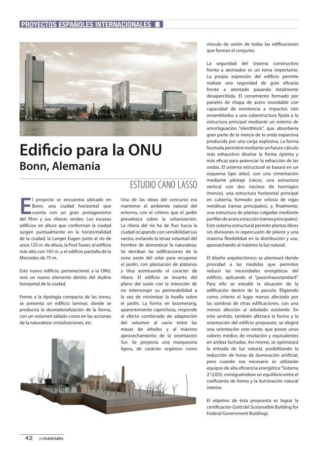 promateriales 70 I Revista de construcción y arquitectura actual - Preview 15