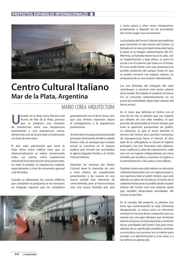 promateriales 70 I Revista de construcción y arquitectura actual - Preview 16