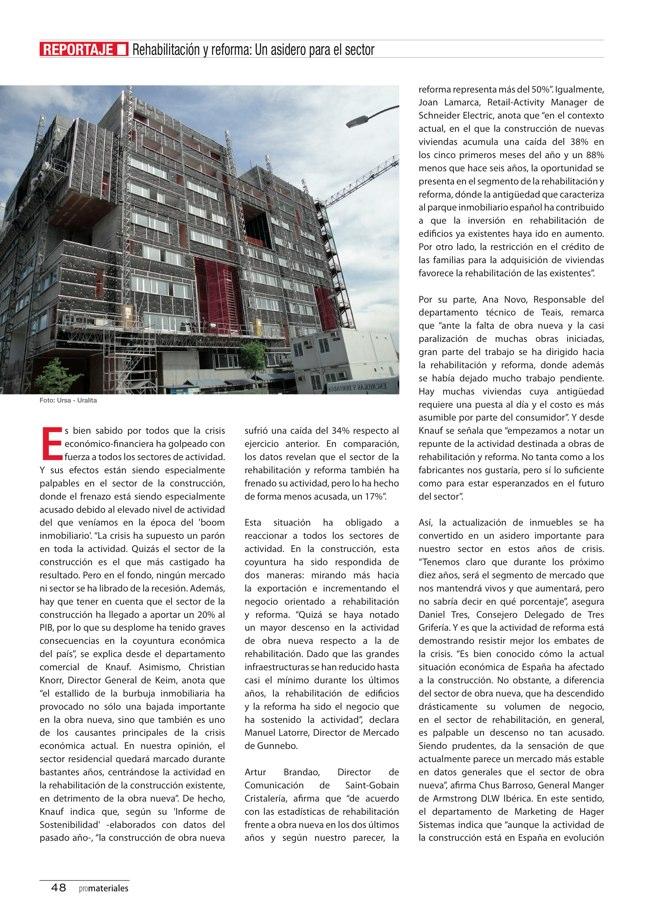 promateriales 70 I Revista de construcción y arquitectura actual - Preview 18