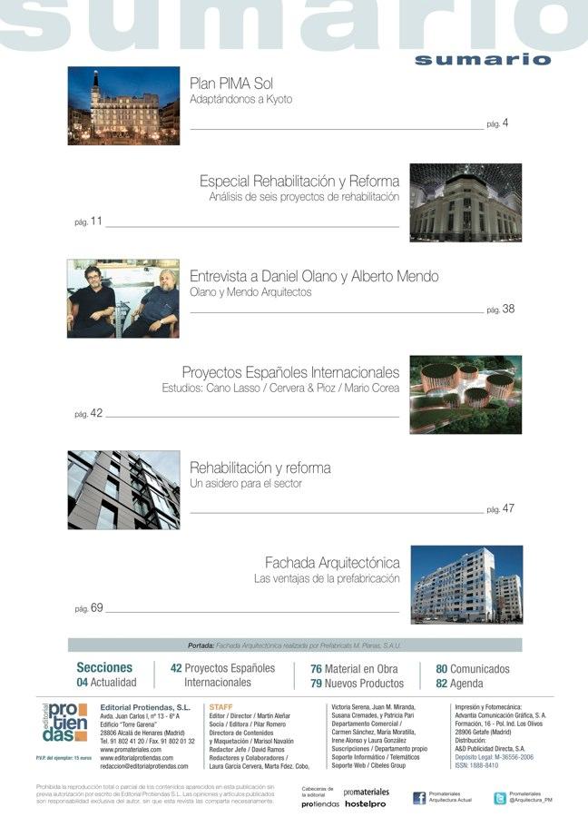 promateriales 70 I Revista de construcción y arquitectura actual - Preview 1