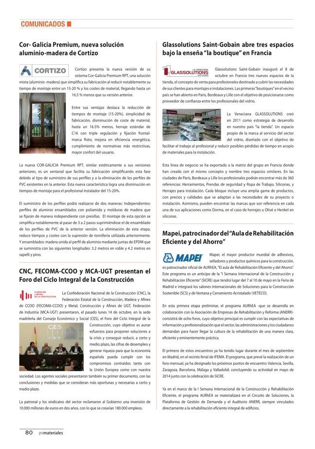 promateriales 70 I Revista de construcción y arquitectura actual - Preview 22