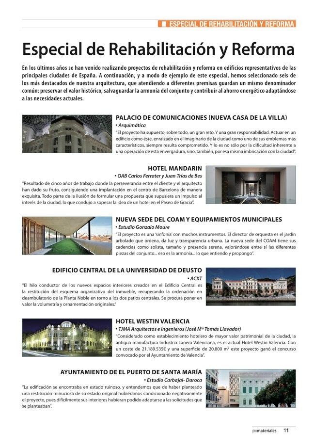 promateriales 70 I Revista de construcción y arquitectura actual - Preview 3