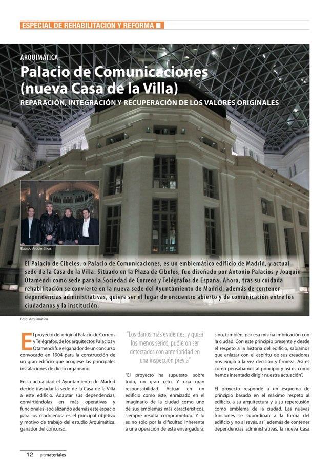promateriales 70 I Revista de construcción y arquitectura actual - Preview 4