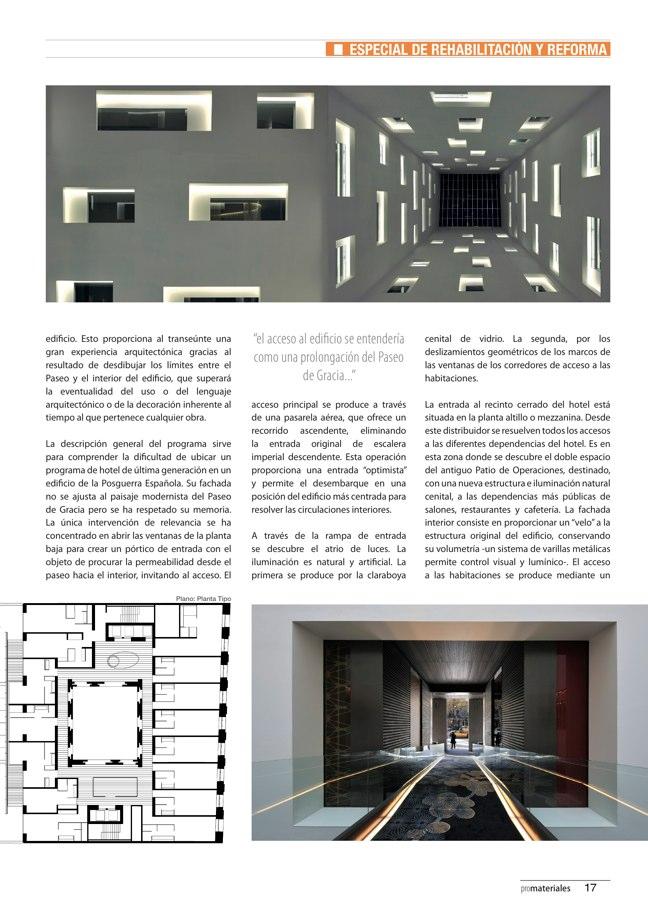 promateriales 70 I Revista de construcción y arquitectura actual - Preview 6
