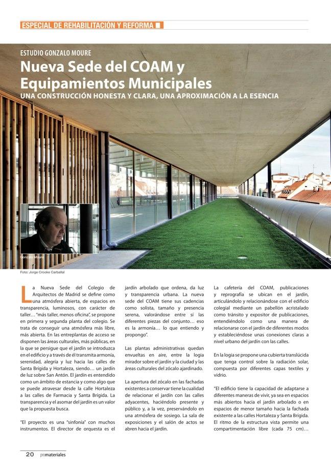 promateriales 70 I Revista de construcción y arquitectura actual - Preview 7
