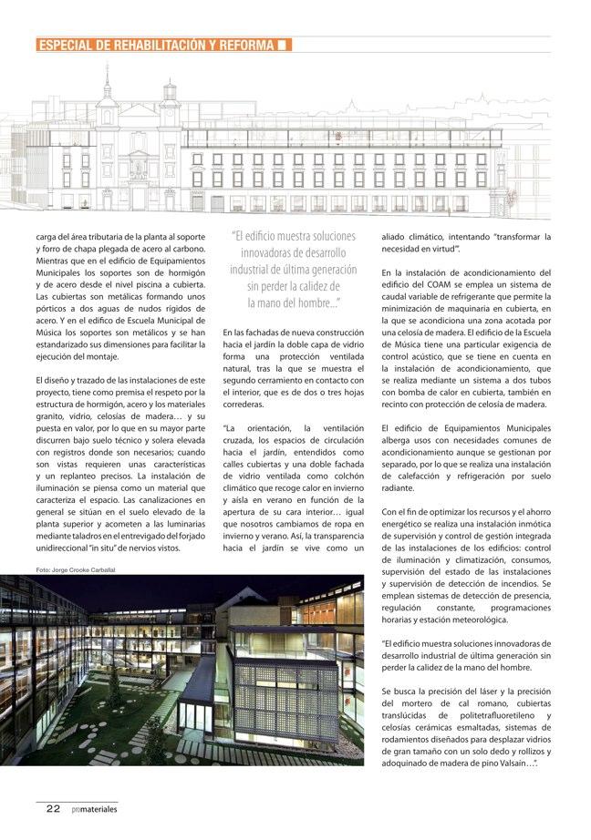 promateriales 70 I Revista de construcción y arquitectura actual - Preview 8