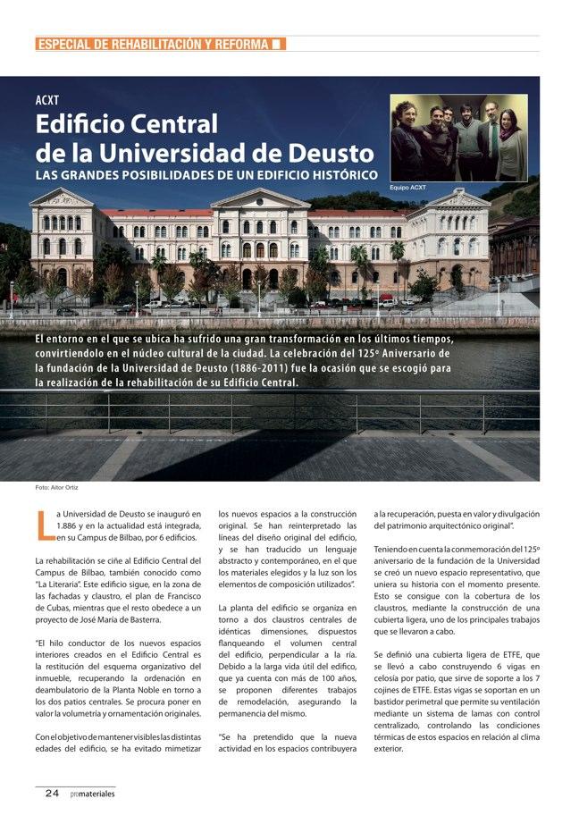 promateriales 70 I Revista de construcción y arquitectura actual - Preview 9