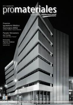 promateriales 71 I Revista de construcción y arquitectura actual