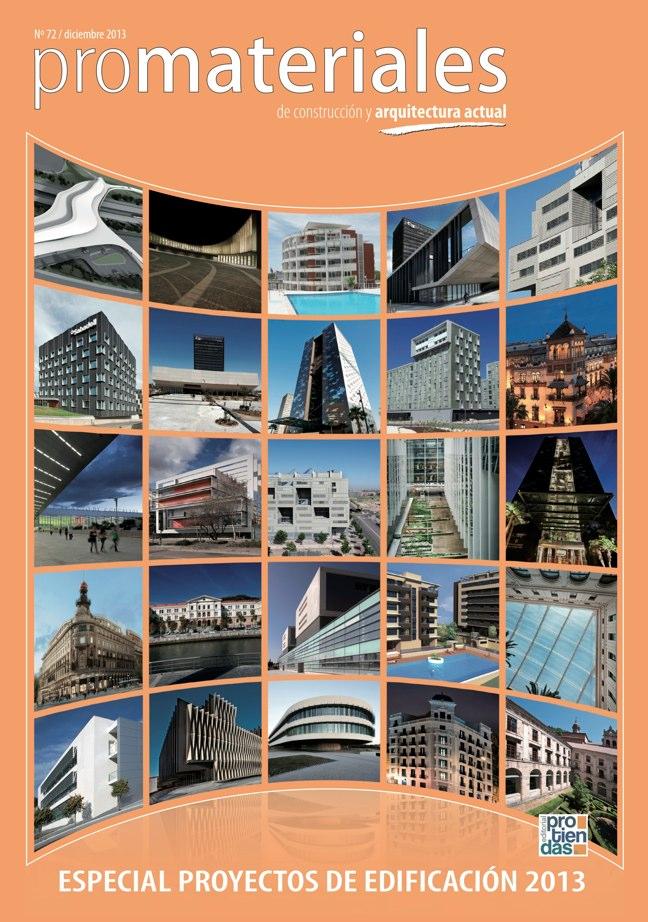 Promateriales 72 i revista de construcci n y arquitectura for Revistas de arquitectura online