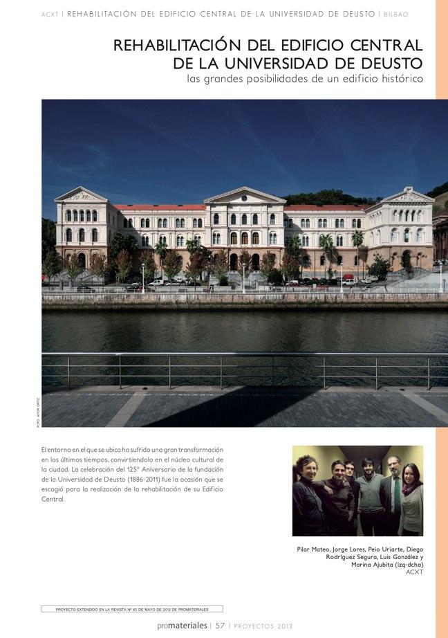 promateriales 72 I Revista de construcción y arquitectura actual - Preview 12