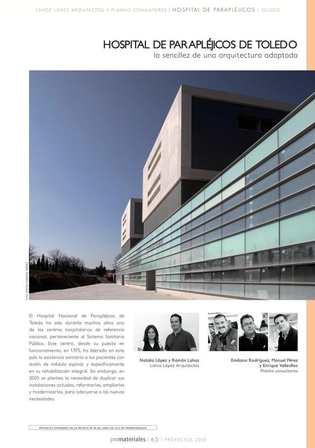 promateriales 72 I Revista de construcción y arquitectura actual - Preview 14