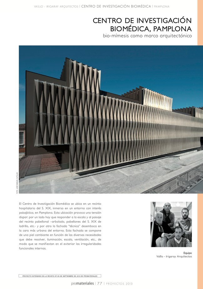 promateriales 72 I Revista de construcción y arquitectura actual - Preview 16