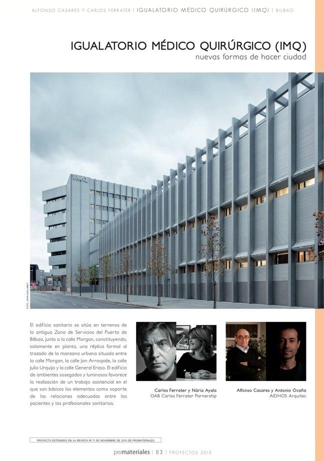 promateriales 72 I Revista de construcción y arquitectura actual - Preview 17