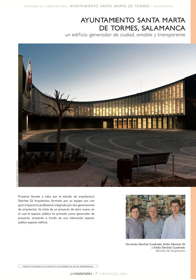 promateriales 72 I Revista de construcción y arquitectura actual - Preview 3