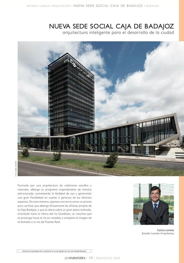 promateriales 72 I Revista de construcción y arquitectura actual - Preview 5