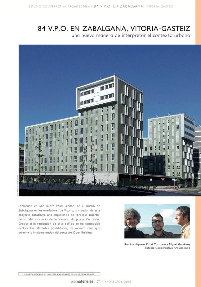 promateriales 72 I Revista de construcción y arquitectura actual - Preview 7