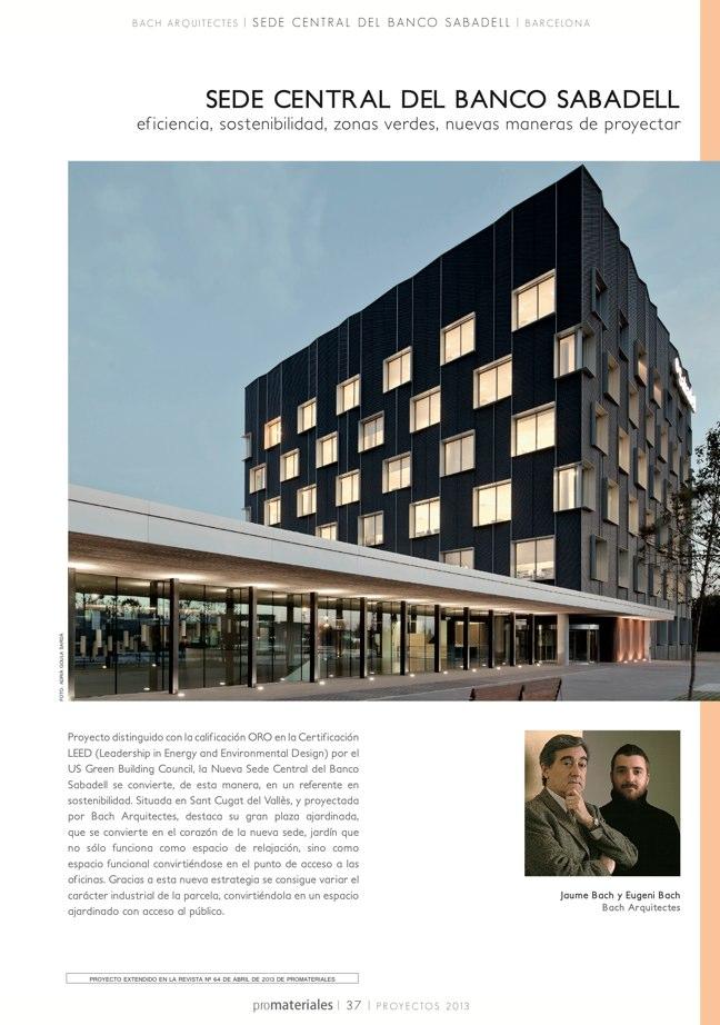 promateriales 72 I Revista de construcción y arquitectura actual - Preview 8