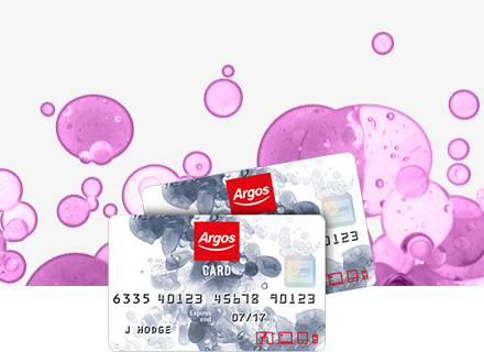 Argos credit card.