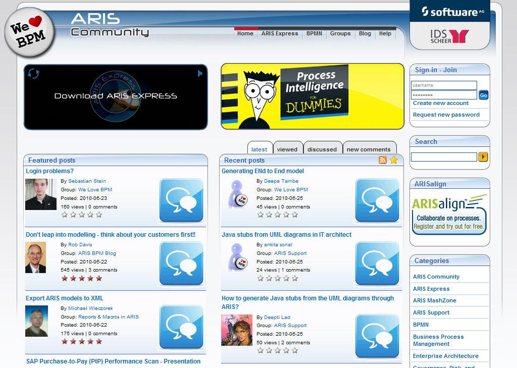 Archive   ARIS BPM Community