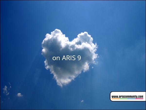 on Cloud nine with ARIS