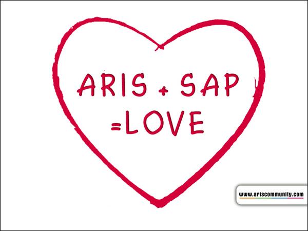 ARIS + SAP = LOVE