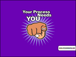 Your process needs you! ecard