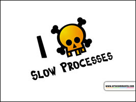 I hate slow processes ecard