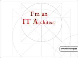 Im an IT Architect ecard
