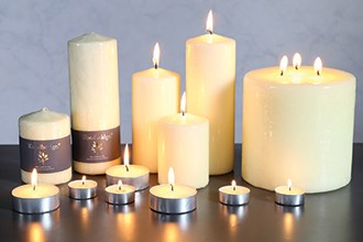 Unfragranced Candles